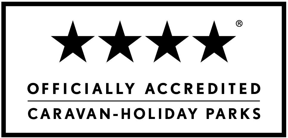 Officially Accredited 4 Star Rating - Caravan Holiday Parks