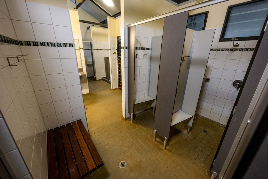Bathrooms at Kimberleyland Waterfront Holiday Park