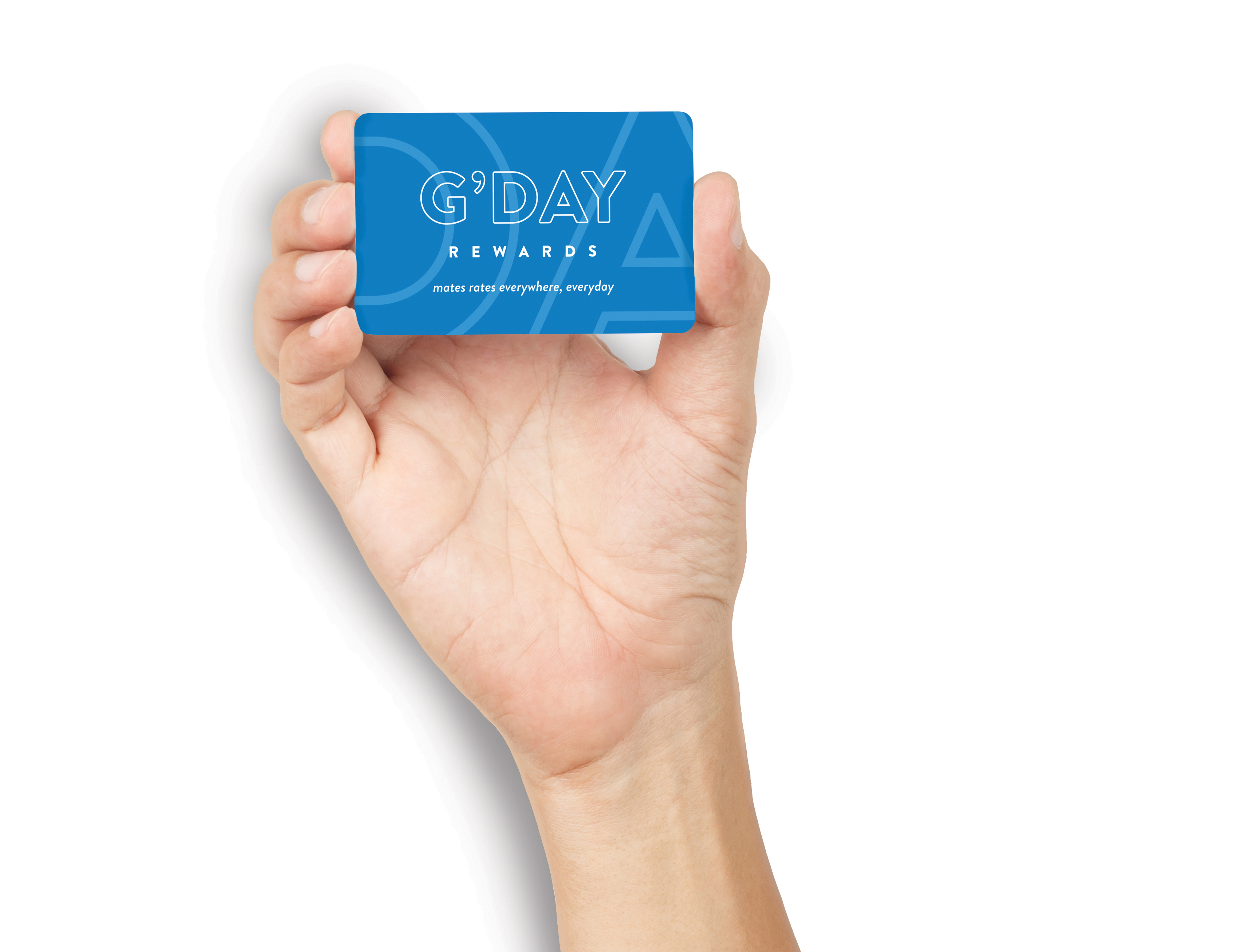Gday Rewards Card for Top Parks Members and Discovery Members