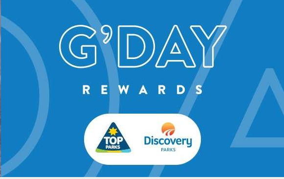 G'Day Rewards Card Top Parks Discovery Parks