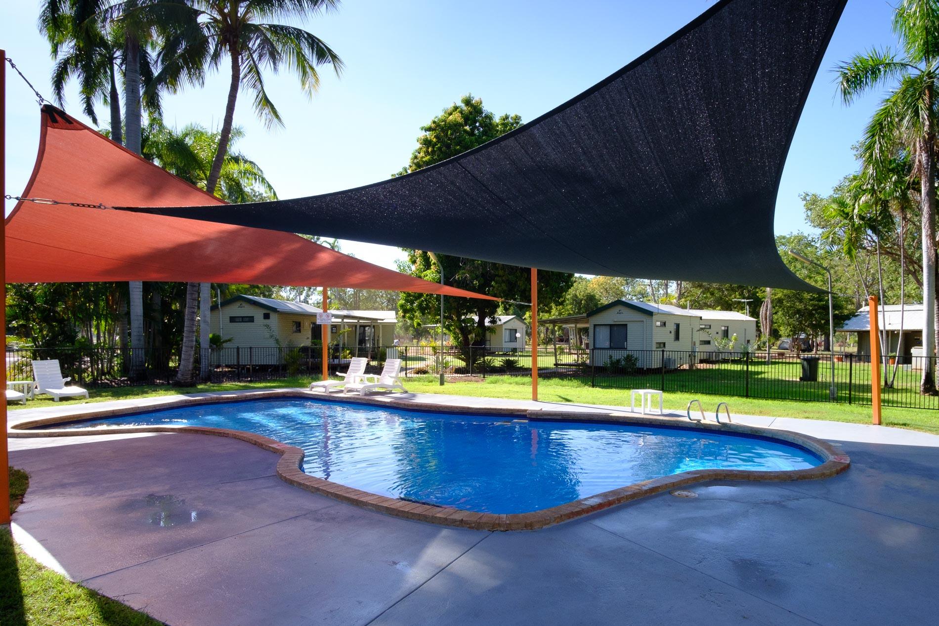 Poolside Swimming Pool at Kimberleyland Caravan Park