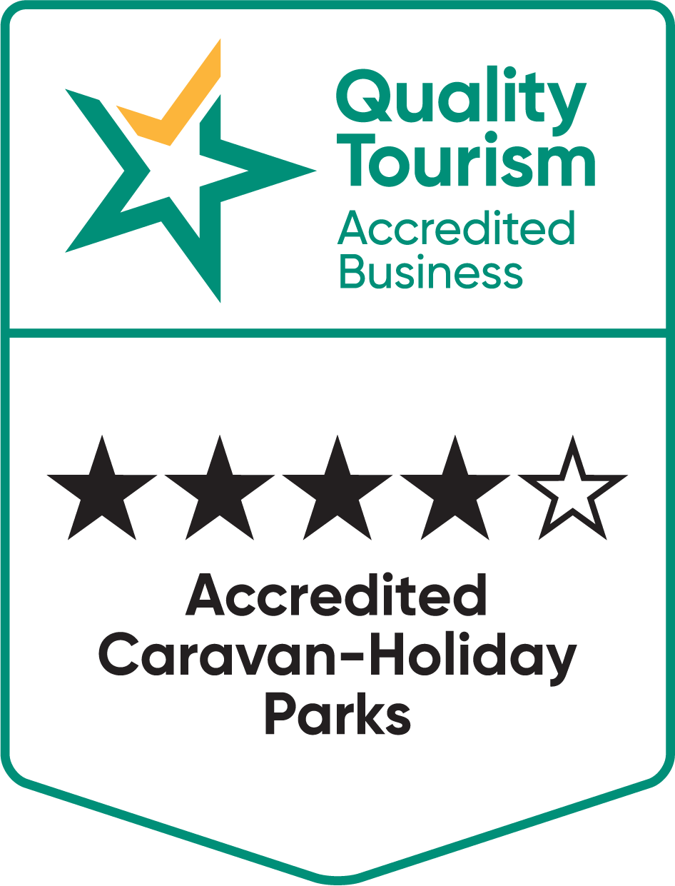 Kimberleyland Four and a Half Star Rating for Accredited Caravan Holiday Parks