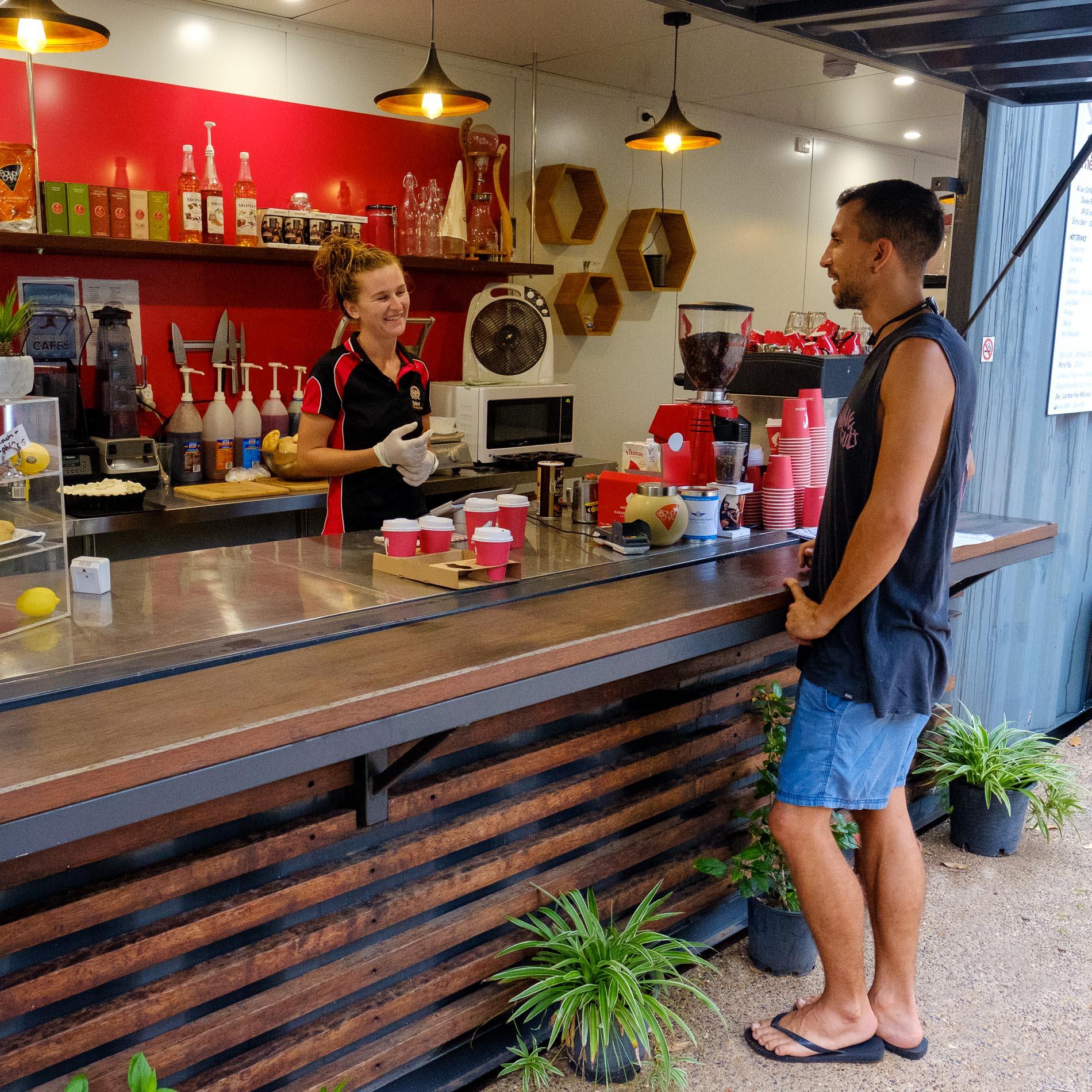 coffee at Kimberleyland