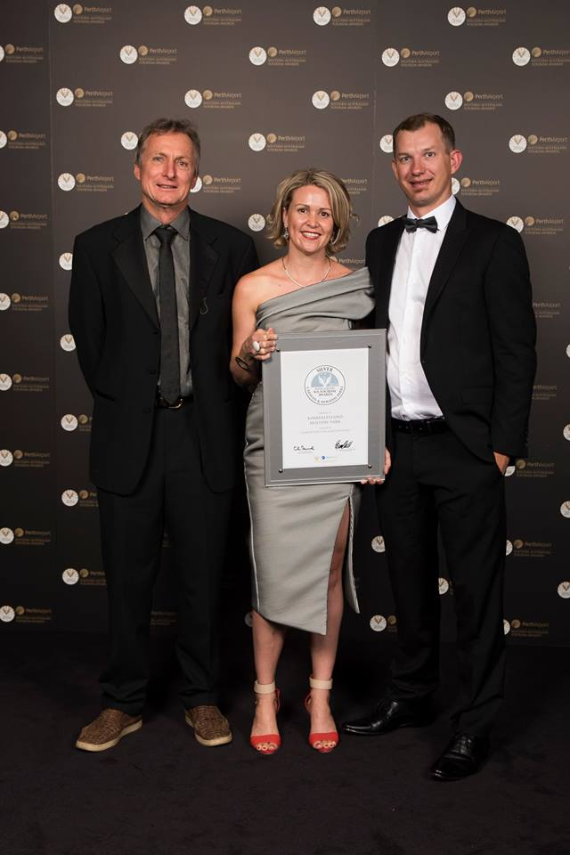 2016 WA Tourism Awards Silver Caravan and Holiday Parks