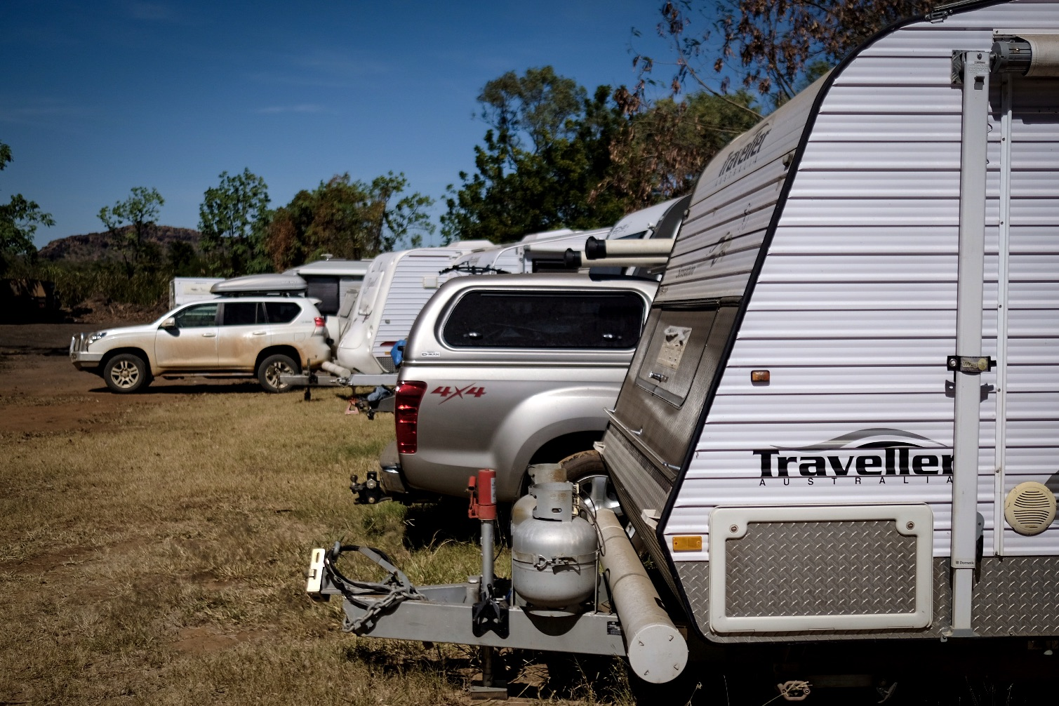 Caravan Storage in Kununurra at Kimberleyland