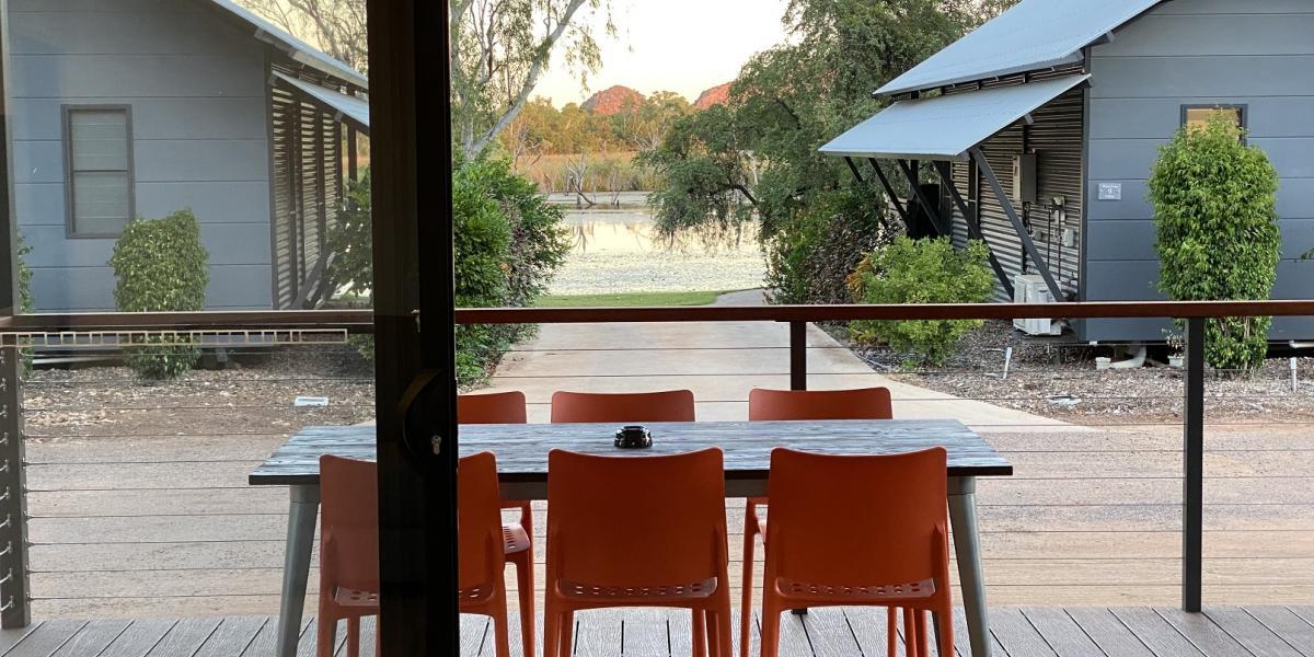 Alfresco Dining with Water Views at Kimberleyland