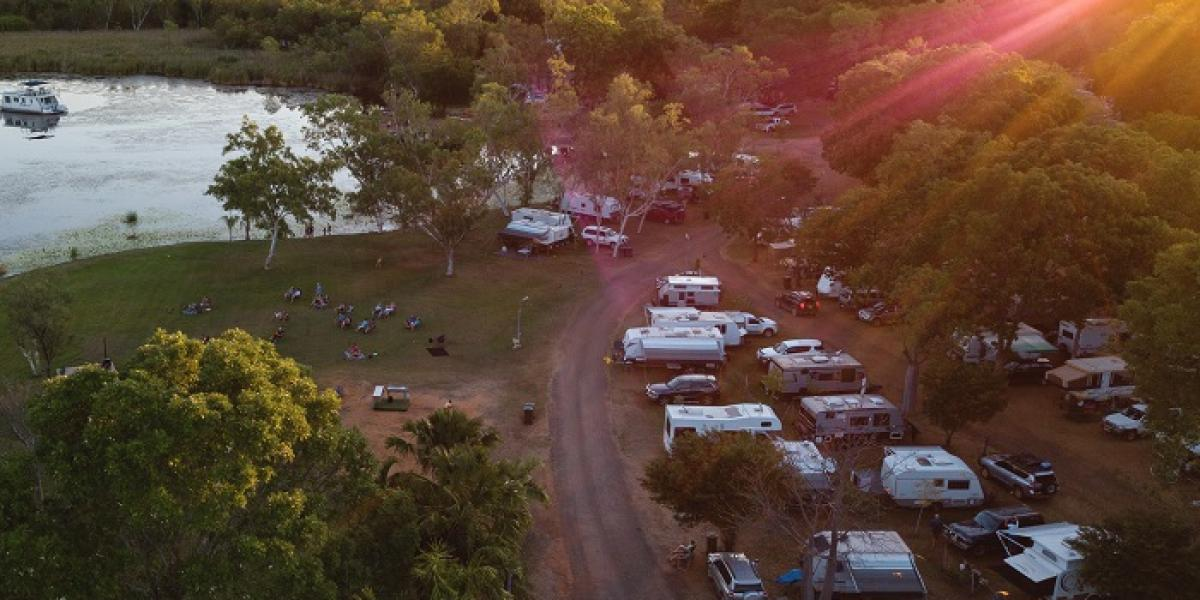 Caravan Sites at Kimberleyland in Kununurra