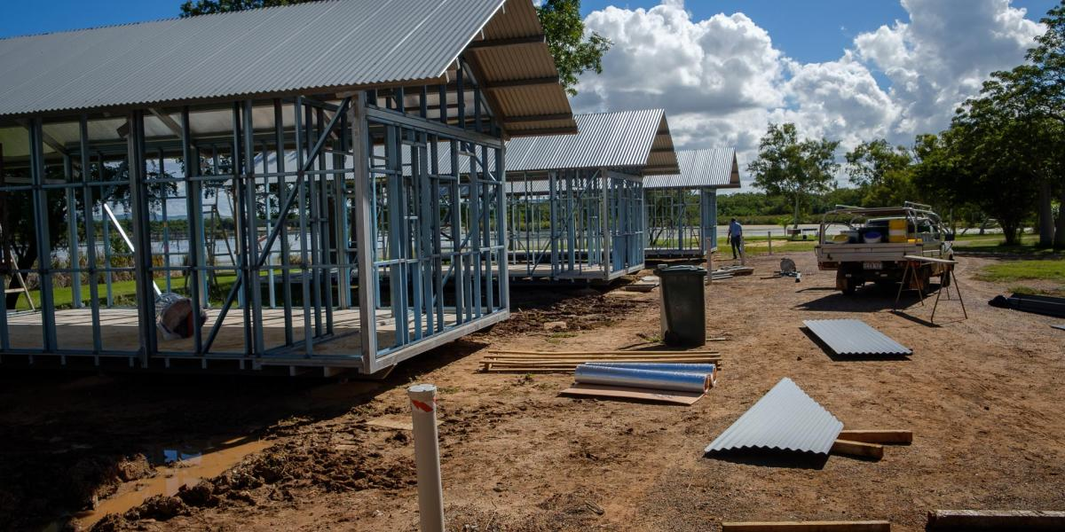 The build chalets Kimberleyland