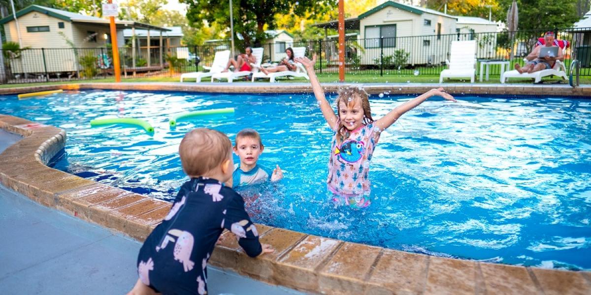 family friendly facilities at Kimberleyland