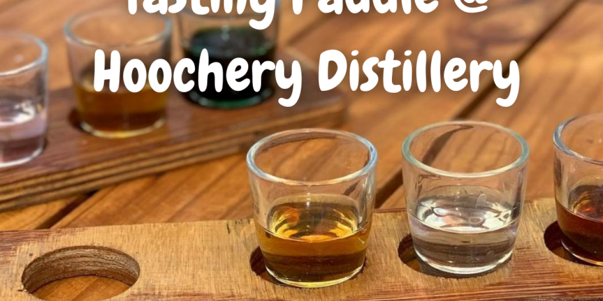 Tasting Paddle at Hoochery