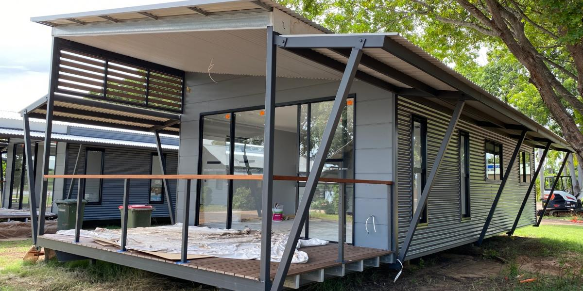 Progress Photo New Two Bedroom Cabin at Kimberleyland