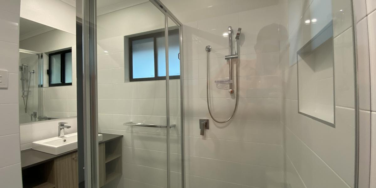 New Two Bedroom Cabin Bathrooms