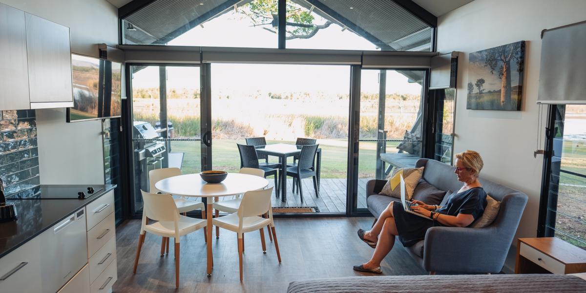 deluxe accommodation Kimberleyland Kununurra