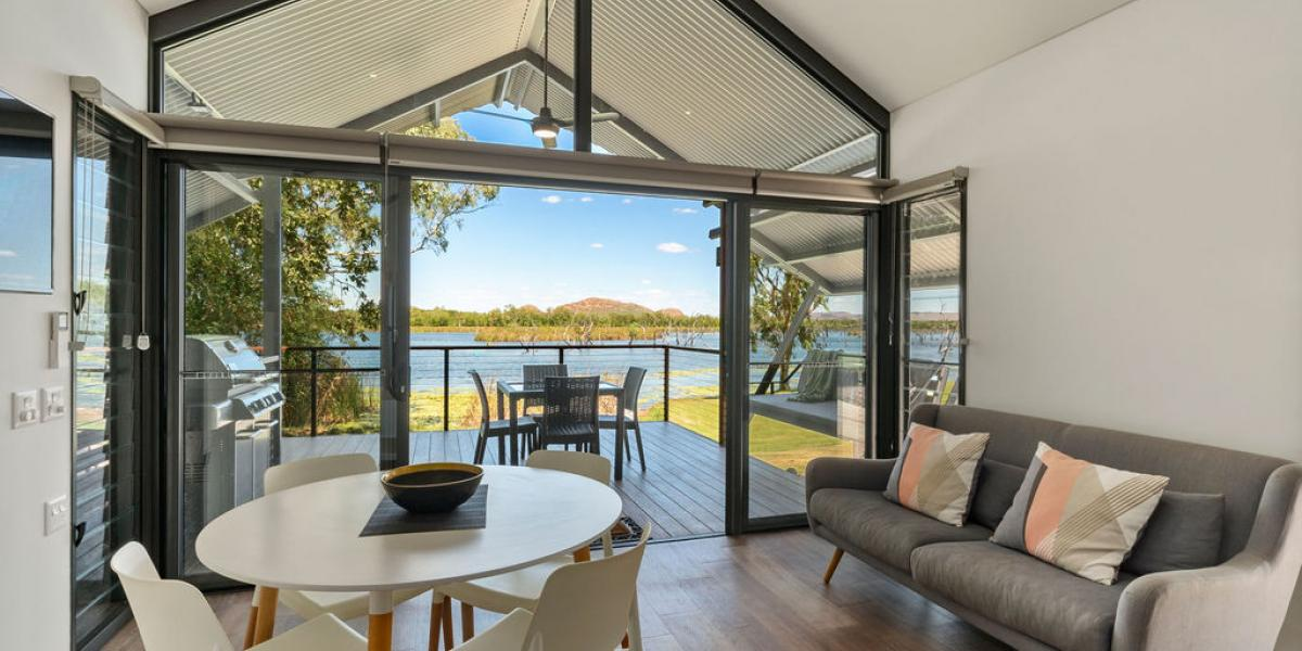 Kununurra Accommodation with Kimberleyland Self Contained Waterfront Villas