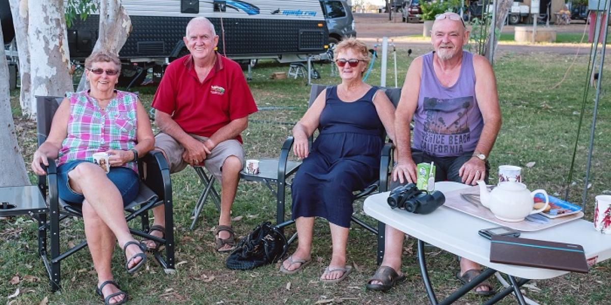 Powered Caravan Site Kununurra in the Kimberley