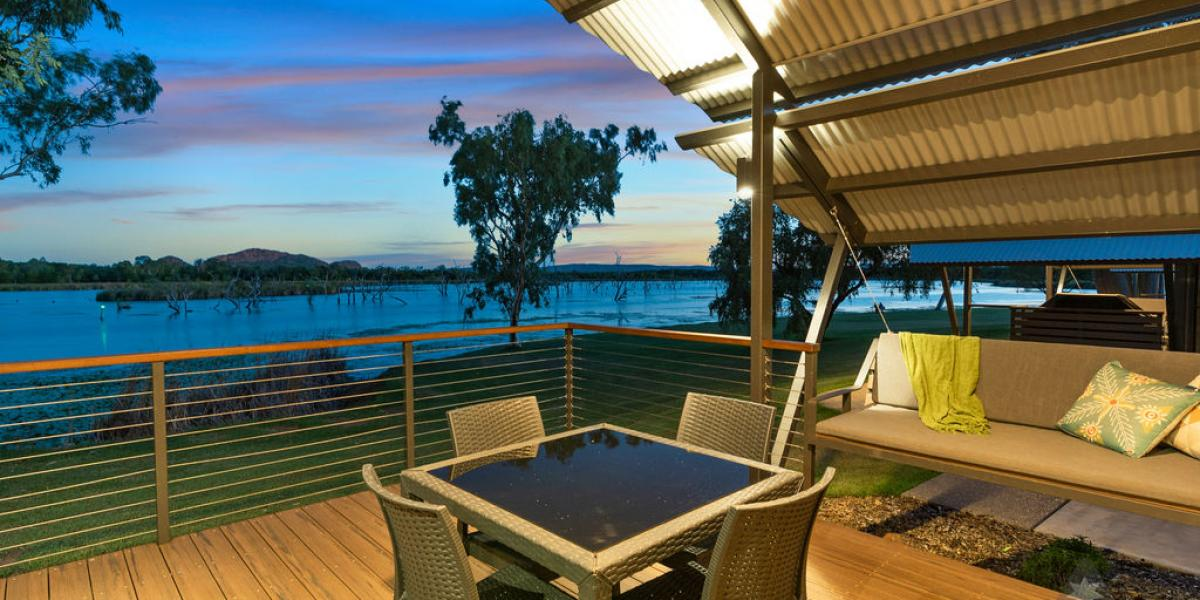 Alfresco Setting of Kimberleyland Waterfront Villas