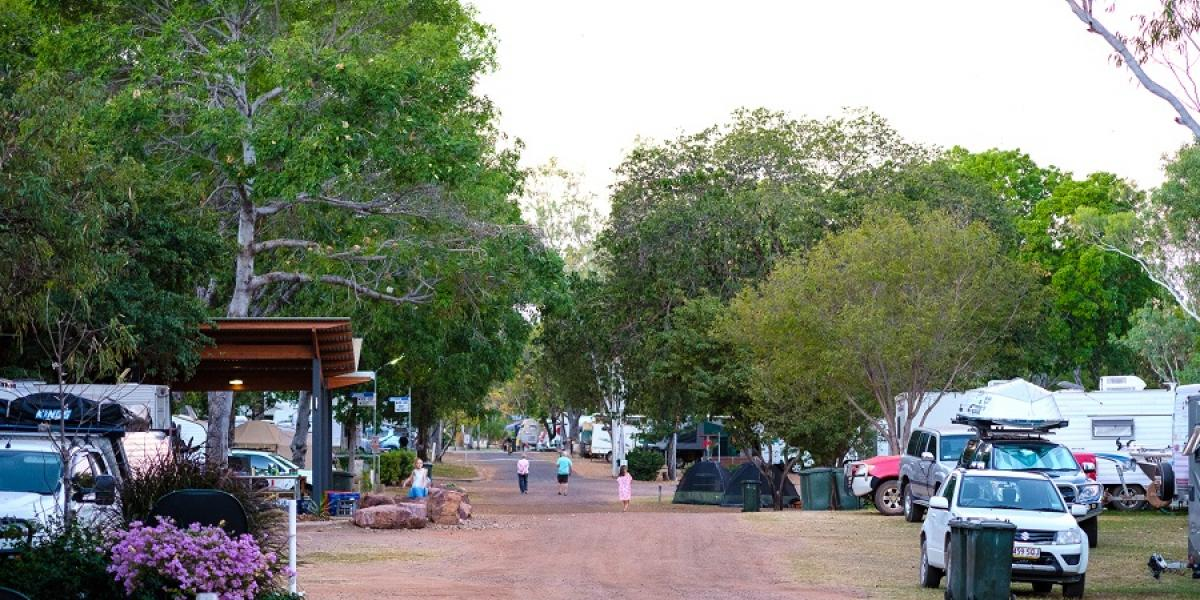 Powered Sites at Kimberley land Kununurra