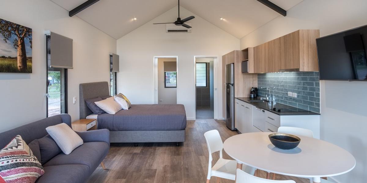 Kimberleyland studio Deluxe Cabins