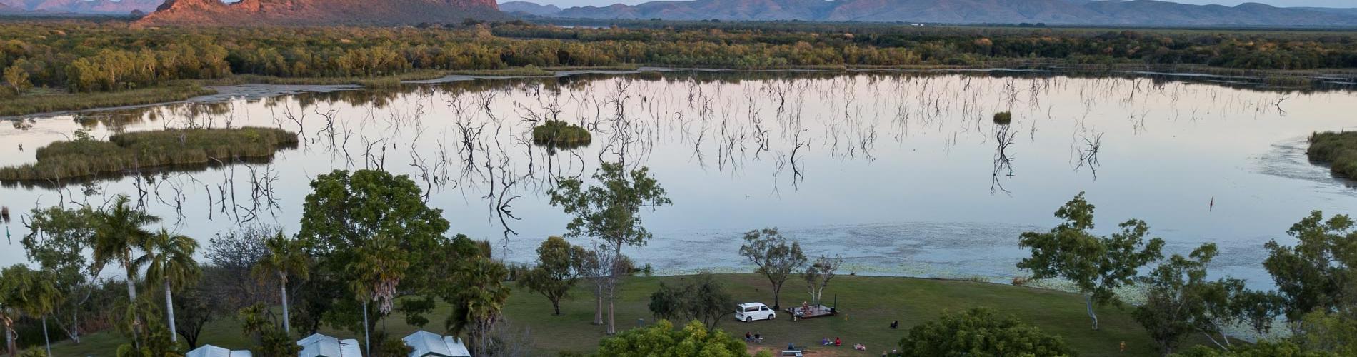 Aerial View of Kimberleyland