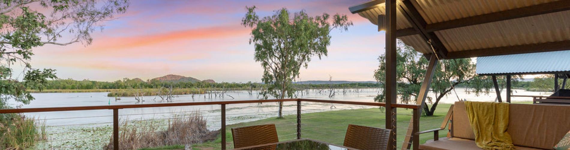 Waterfront Villa Accommodation at Kimberleyland in Kununurra