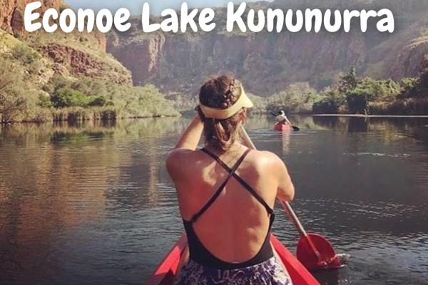 Canoe down Lake Kununurra