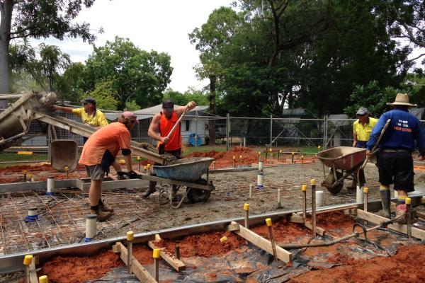 Continued Construction at Kimberleyland