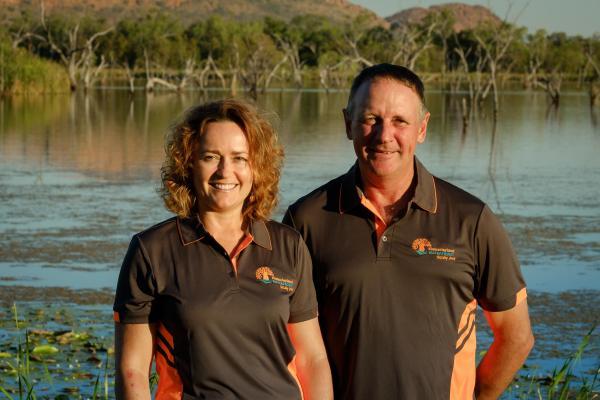 Kimberleyland Hosts and Managers Stephanie and Mark