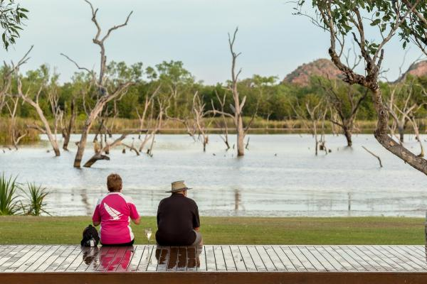 Kimberleyland Holiday Park Lily Creek Lagoon Lake Kununurra WA