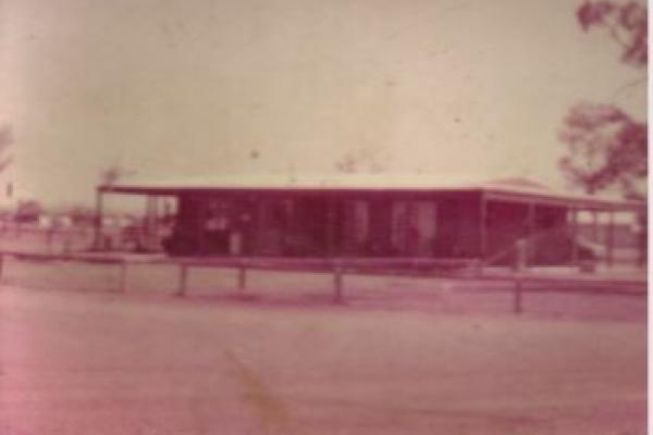 Kimberleyland Original Reception Building in 1984