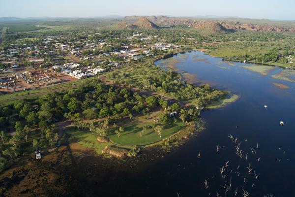 Kimberleyland with Kunnurra in the Background