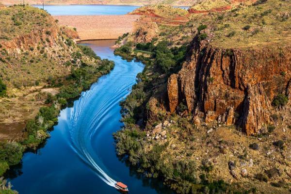 Lake Kununurra Boat Cruise