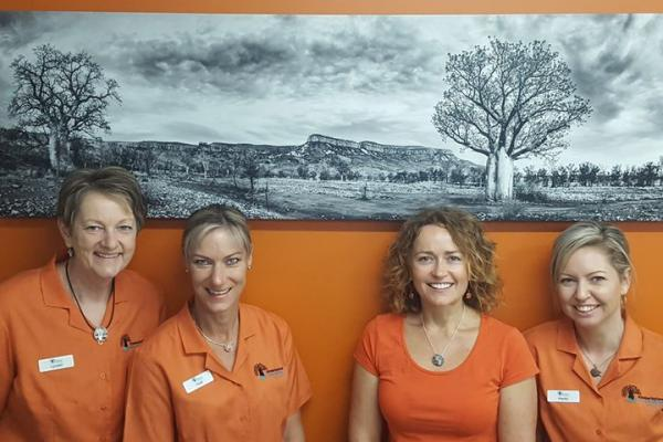 Warm and Friendly Check in staff at Kimberleyland