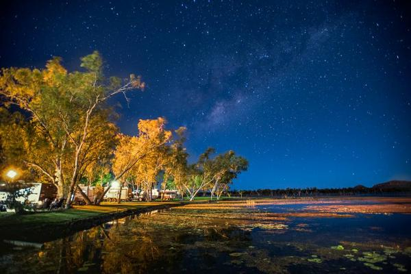 Star Lit Kimberley Waterfront Holiday Park