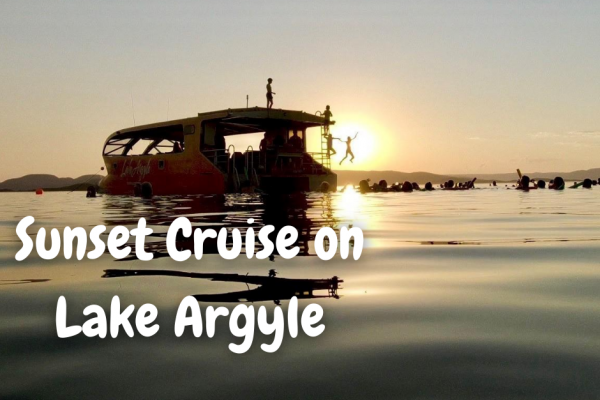 Lake Argyle Sunset Cruise_things to do in Kununurra