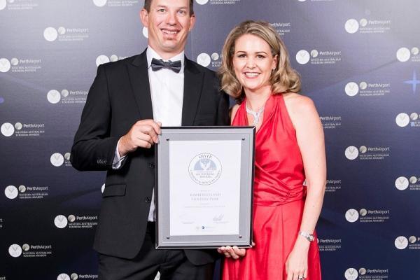 2017 Silver Award Caravan and Holiday Parks Tourism Awards Western Australia