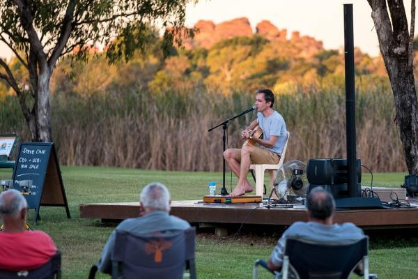 Entertainment Live Music at Kimberleyland Foreshore