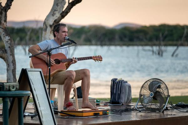 Live Entertainment Sunsets at Kimberleyland