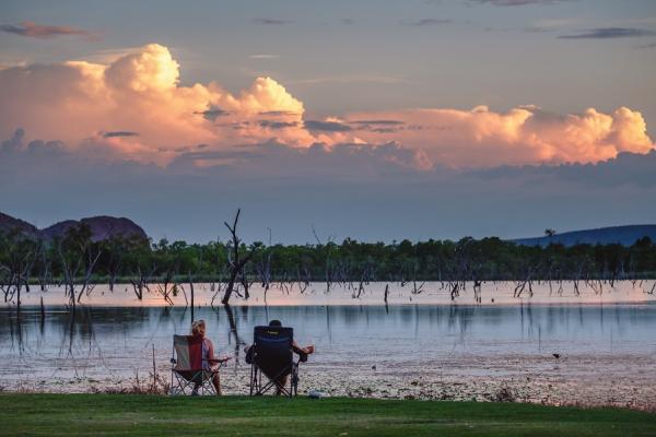 Sunset at Kimberleyland Kununurra Western Australia