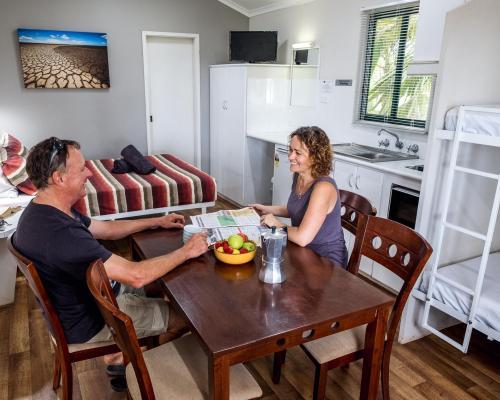 Couples in Kimberleyland Waterfront cabins