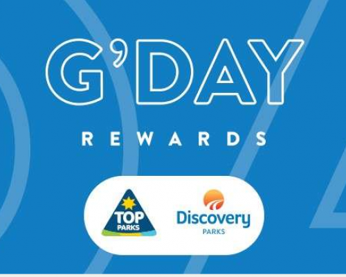Gday Top Parks Discovery Rewards Card Announcement