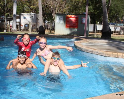 Family Friendly Caravan Park Pool Kununurra