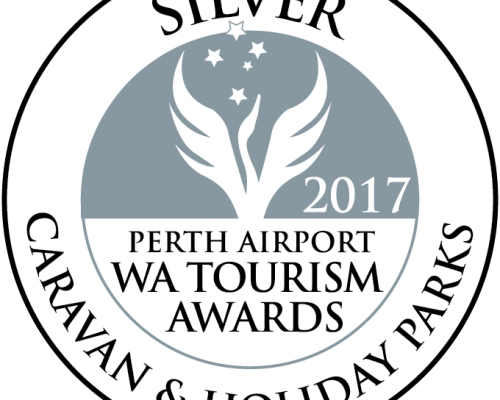 2017 Silver WA Tourism Awards Caravan and Holiday Parks