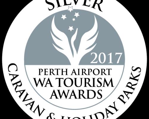 2017 Silver WA Tourism Awards Caravan and Holiday Parks